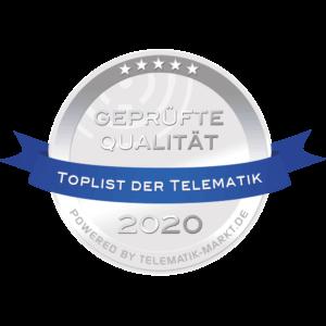 Nufatron Toplist der Telematik 2020