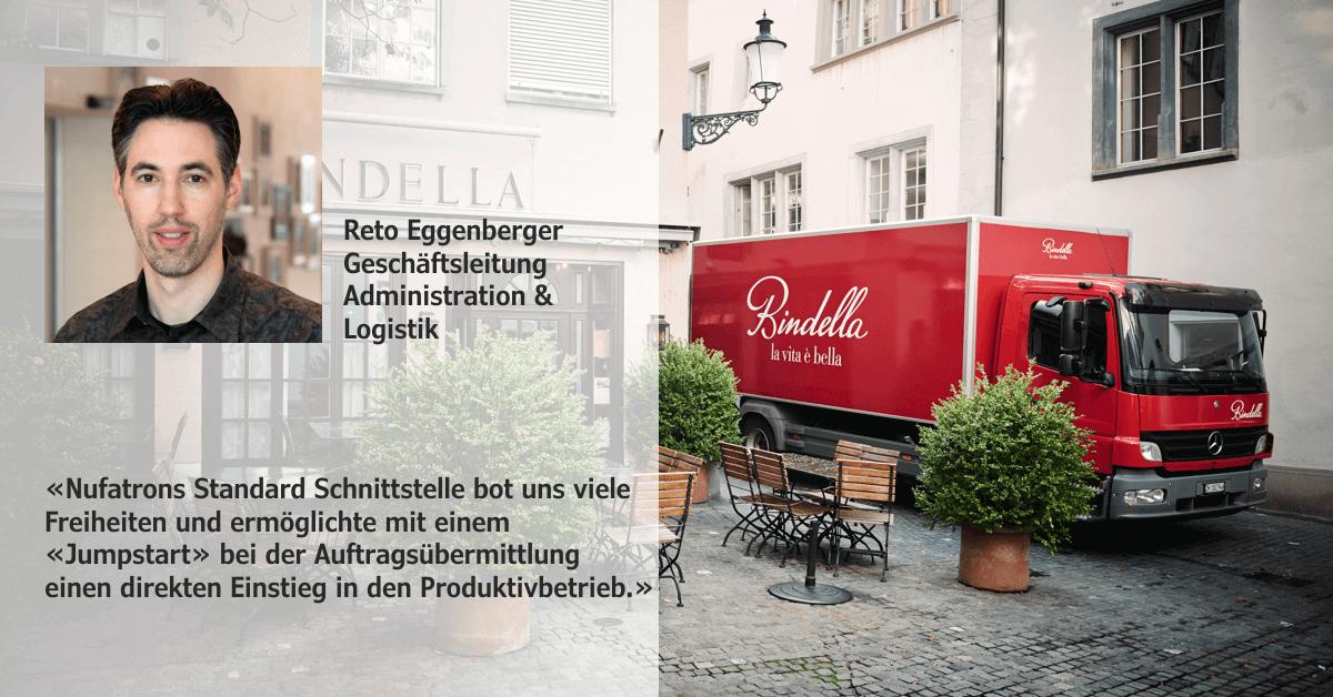 Rudolf Bindella Weinhandel Referenz tranSvias by Nufatron